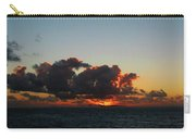 Dramatic Sea Sky At Dawn Carry-all Pouch