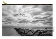 Dramatic Sky At Penfield Jetty Carry-all Pouch