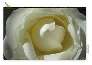 Dramatic White Rose 2 Carry-all Pouch