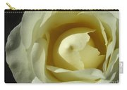 Dramatic White Rose 3 Carry-all Pouch