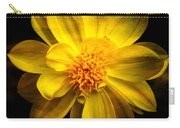Dramatic Yellow Dahlia Carry-all Pouch