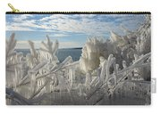 Draped In Icy Beauty Carry-all Pouch