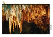 Draperies And Stalactites Carry-all Pouch