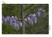 Draping Wisteria Frutescens Wildflower Vines Carry-all Pouch