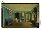 Drawing Room With Columned Entresol  Carry-all Pouch