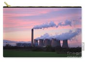Drax Power Station At Sunset Carry-all Pouch