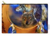 Dream Catcher - Wolf Dreams Carry-all Pouch