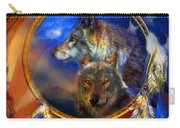 Dream Catcher - Wolf Dreams Patriotic Carry-all Pouch