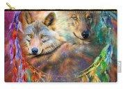 Dream Catcher - Wolf Spirits Carry-all Pouch