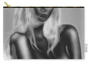 Dream In Black And White Carry-all Pouch