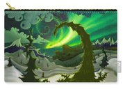 Dream Landscapes Aurora Green Carry-all Pouch