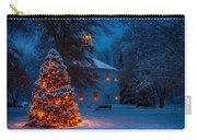 Christmas At The Richmond Round Church Carry-all Pouch