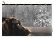 Dreamin' Of A White Christmas Carry-all Pouch by Lori Deiter