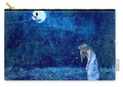 Dreaming In Blue Carry-all Pouch by Rhonda Barrett