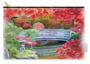 Dreaming Of Fall Bridge In Manito Park Carry-all Pouch