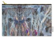 Dreamy Blue Up-dog Yoga Art Carry-all Pouch
