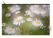 Dreamy Daisies On Summer Meadow Carry-all Pouch