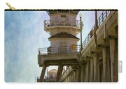 Dreamy Day At Huntington Beach Pier Carry-all Pouch