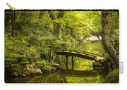 Dreamy Japanese Garden Carry-all Pouch by Sebastian Musial