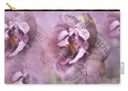 Dreamy Purple Lavender Impressionistic Abstract Floral Art Photography Carry-all Pouch