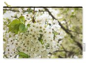Dreamy White Cherry Blossoms - Impressions Of Spring Carry-all Pouch