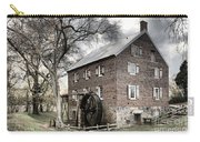 Dreary Skies At Kerr Gristmill Carry-all Pouch