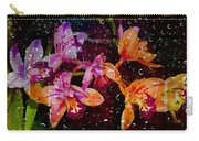 Drenched Flowers Carry-all Pouch
