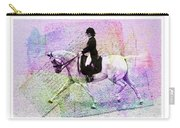 Dressage Pretty Carry-all Pouch