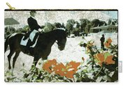 Dressage Roses Carry-all Pouch