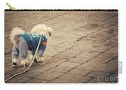 Dressed Up Dog Carry-all Pouch