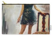 Dressed Up Girl Carry-all Pouch
