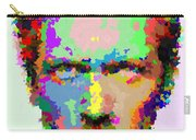 Dr. House Portrait - Abstract Carry-all Pouch