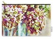 Dried Autumn Hydrangeas - Digital Paint Carry-all Pouch