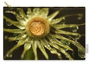 Dried Dandelion After Rain Carry-all Pouch by Iris Richardson