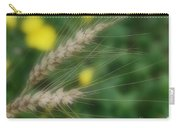 Dried Grass In Soft Focus Carry-all Pouch