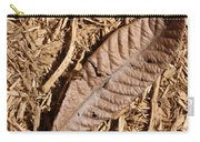 Dried Leaf Carry-all Pouch
