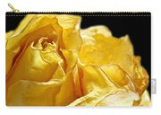 Dried Yellow Rose II Carry-all Pouch