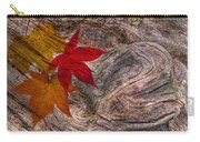 Drifting Autumn Leaves Carry-all Pouch