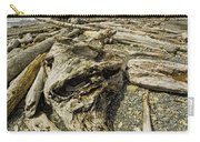 Driftwood And Sea Stacks On Ruby Beach Carry-all Pouch