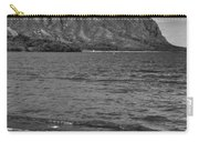 Driftwood-black And White Carry-all Pouch