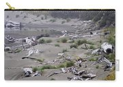 Driftwood On The Beach Carry-all Pouch