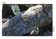Driftwood Texture And Shadows Carry-all Pouch