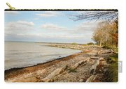 Driftwood On Shore Carry-all Pouch