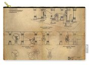 Drive Assembly Platform Carry-all Pouch by James Christopher Hill