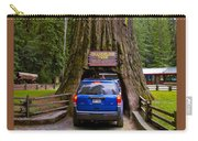 Drive Through Redwood Tree Carry-all Pouch