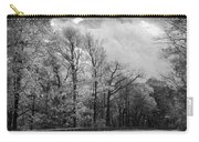 Drive Through The Mountains Bw Carry-all Pouch