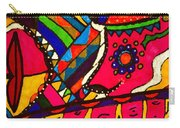 Driven To Abstraction - Parts And Pieces Carry-all Pouch