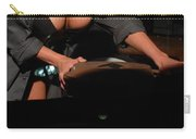 Drivers View Of A Pinup Girl Carry-all Pouch