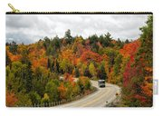 Driving Through Algonquin Park In Fall Carry-all Pouch