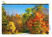 Driving Through Autumn Carry-all Pouch